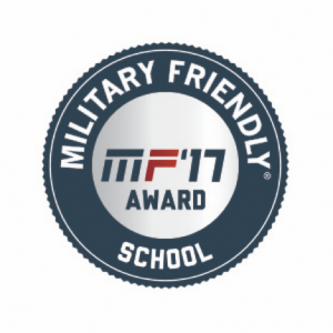 logo for military friendly school award, 2017