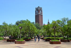 photo of uf's campus